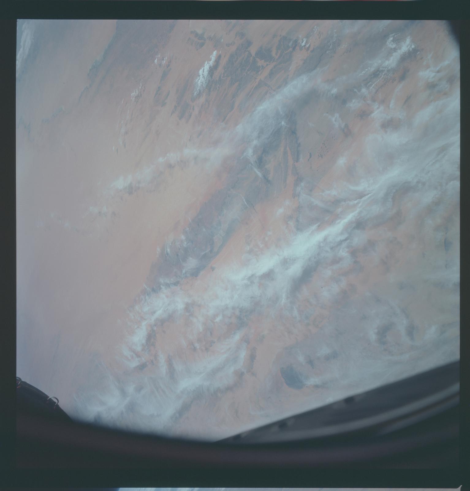 Gemini XII Mission Image - Mauritania