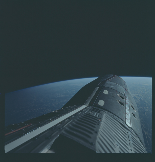 Gemini XII Mission Image - Standup EVA