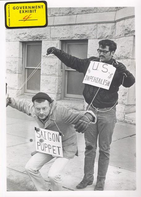 Vietnam War Protesters, Wichita, Kansas
