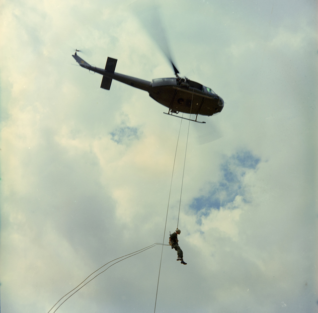 Photograph of Helicopter Training Exercises