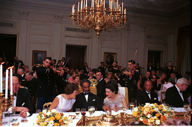 State Dinner for His Imperial Majesty Haile Selassie I, Emperor of Ethiopia