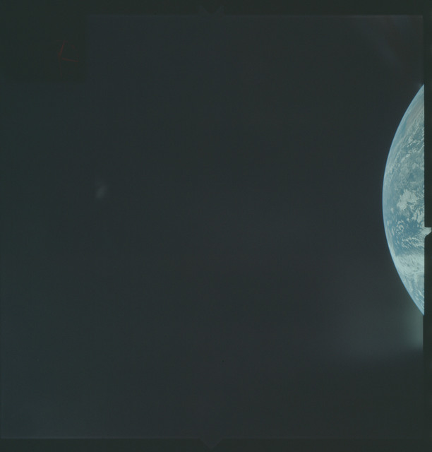 AS04-01-100 - Apollo 4 - Apollo 4 Mission - Atlantic Ocean,coastal Brazil and West Africa