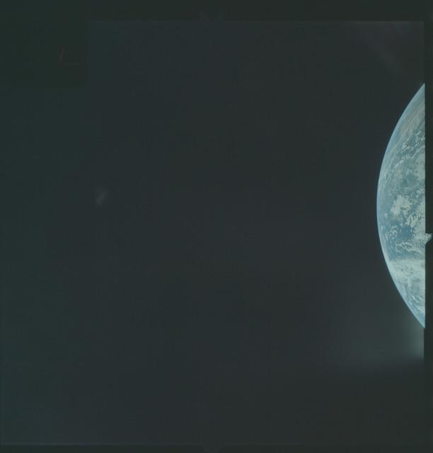 AS04-01-110 - Apollo 4 - Apollo 4 Mission - Atlantic Ocean,coastal Brazil and West Africa