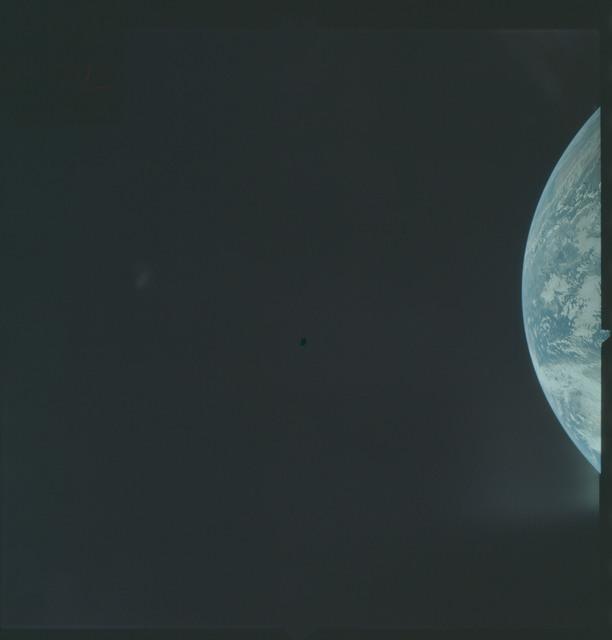 AS04-01-120 - Apollo 4 - Apollo 4 Mission - Atlantic Ocean,coastal Brazil and West Africa