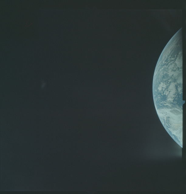 AS04-01-140 - Apollo 4 - Apollo 4 Mission - Atlantic Ocean,coastal Brazil and West Africa