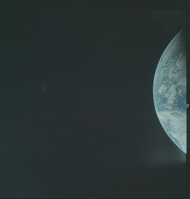 AS04-01-150 - Apollo 4 - Apollo 4 Mission - Atlantic Ocean,coastal Brazil and West Africa