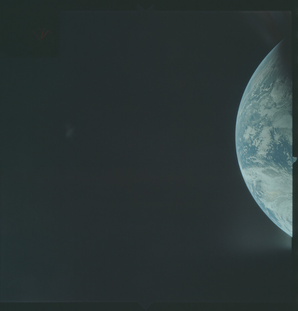 AS04-01-160 - Apollo 4 - Apollo 4 Mission - Atlantic Ocean,coastal Brazil and West Africa