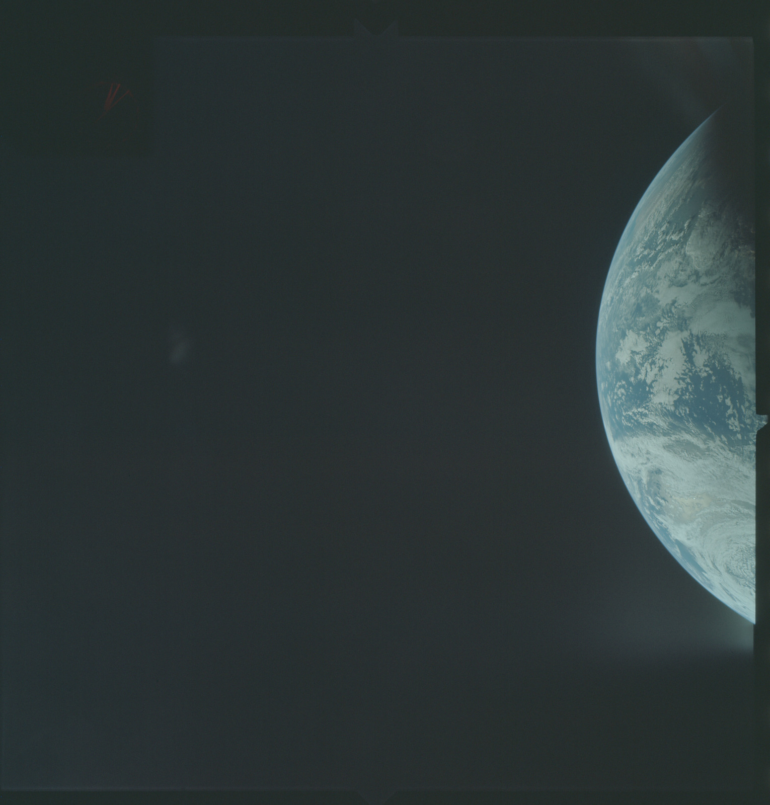 AS04-01-170 - Apollo 4 - Apollo 4 Mission - Atlantic Ocean,coastal Brazil and West Africa