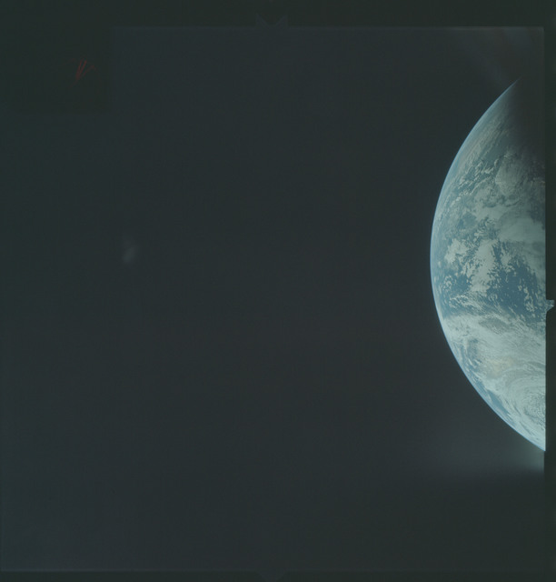 AS04-01-170 - Apollo 4 - Apollo 4 Mission - Atlantic Ocean,coastal Brazil and West Africa
