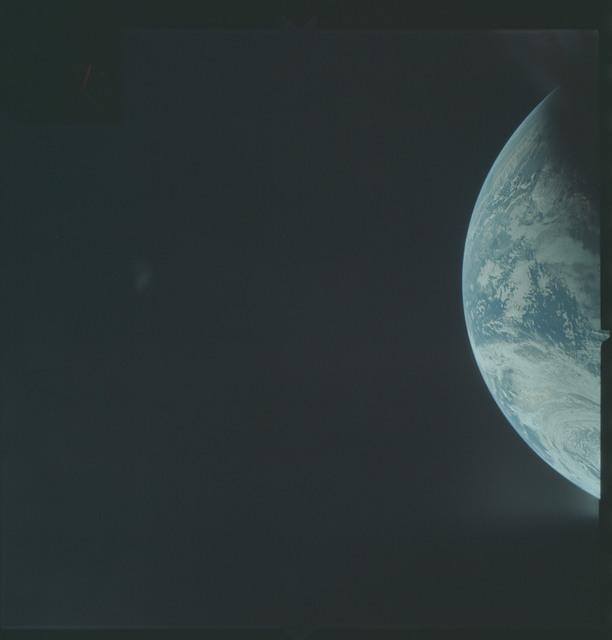 AS04-01-180 - Apollo 4 - Apollo 4 Mission - Atlantic Ocean,coastal Brazil and West Africa