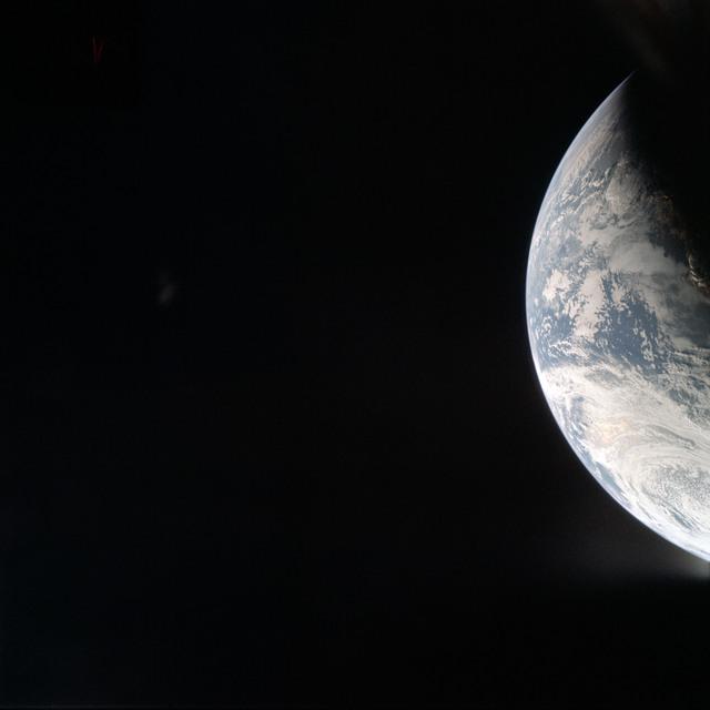 AS04-01-200 - Apollo 4 - Apollo 4 Mission - Atlantic Ocean,coastal Brazil and West Africa