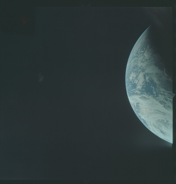 AS04-01-210 - Apollo 4 - Apollo 4 Mission - Atlantic Ocean,coastal Brazil and West Africa