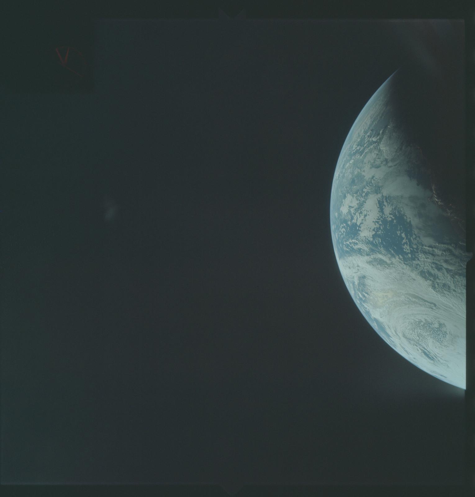 AS04-01-220 - Apollo 4 - Apollo 4 Mission - Atlantic Ocean,coastal Brazil and West Africa