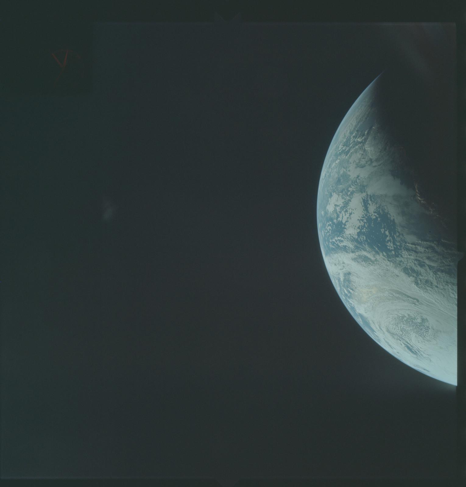 AS04-01-230 - Apollo 4 - Apollo 4 Mission - Atlantic Ocean,coastal Brazil and West Africa