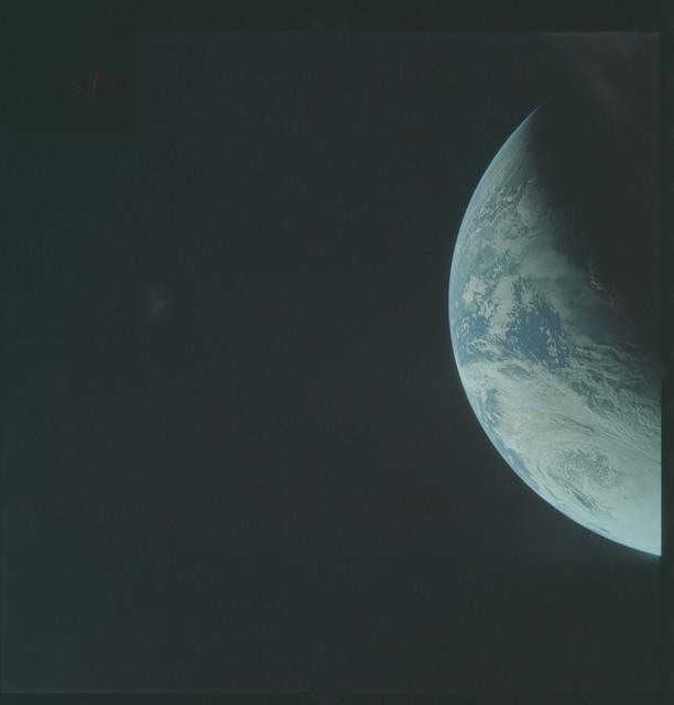 AS04-01-240 - Apollo 4 - Apollo 4 Mission - Atlantic Ocean,coastal Brazil and West Africa