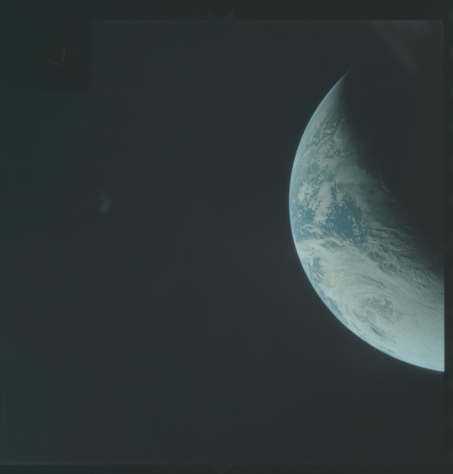AS04-01-260 - Apollo 4 - Apollo 4 Mission - Atlantic Ocean,coastal Brazil and West Africa