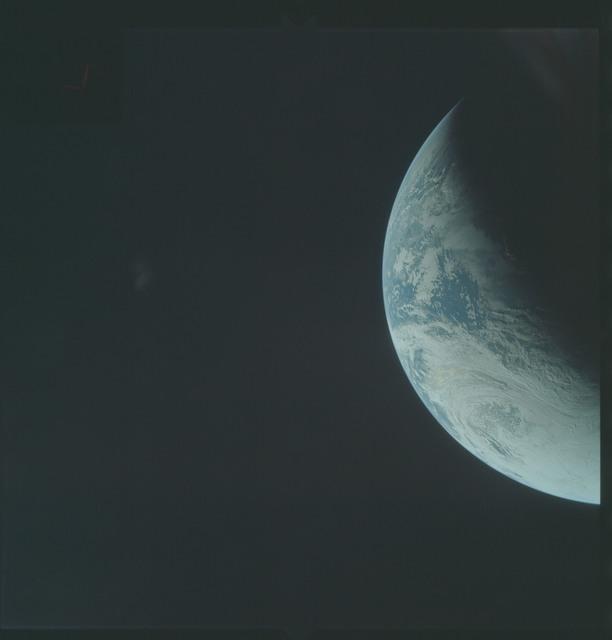 AS04-01-270 - Apollo 4 - Apollo 4 Mission - Atlantic Ocean,coastal Brazil and West Africa