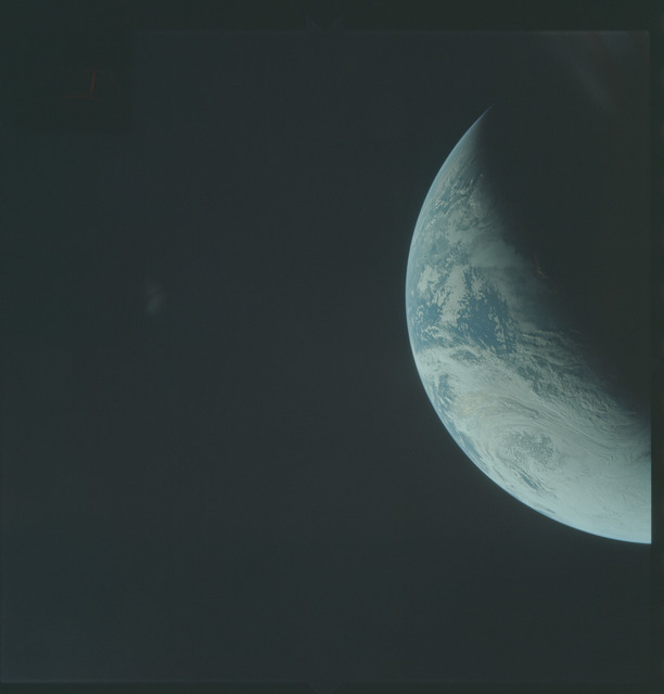 AS04-01-280 - Apollo 4 - Apollo 4 Mission - Atlantic Ocean,coastal Brazil and West Africa