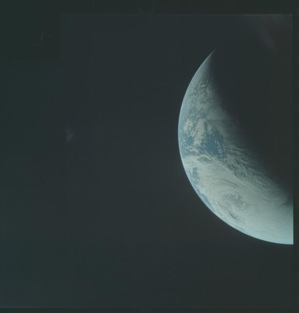 AS04-01-290 - Apollo 4 - Apollo 4 Mission - Atlantic Ocean,coastal Brazil and West Africa