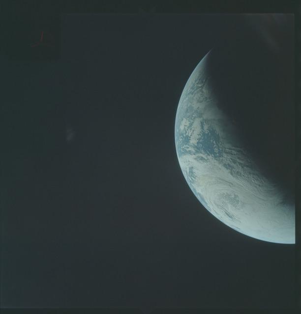 AS04-01-300 - Apollo 4 - Apollo 4 Mission - Atlantic Ocean,coastal Brazil and West Africa