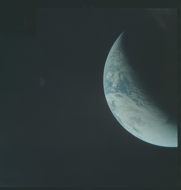 AS04-01-310 - Apollo 4 - Apollo 4 Mission - Atlantic Ocean,coastal Brazil and West Africa