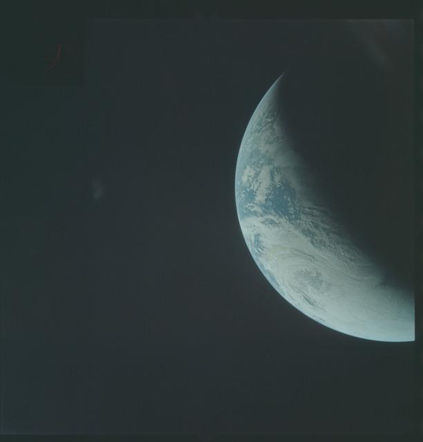 AS04-01-320 - Apollo 4 - Apollo 4 Mission - Atlantic Ocean,coastal Brazil,  West Africa and Antarctica
