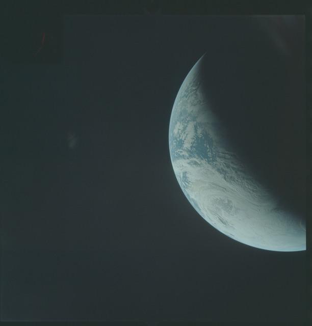 AS04-01-330 - Apollo 4 - Apollo 4 Mission - Atlantic Ocean,coastal Brazil,West Africa and Antarctica