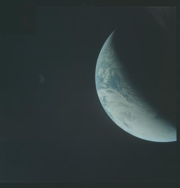 AS04-01-340 - Apollo 4 - Apollo 4 Mission - Atlantic Ocean,coastal Brazil,West Africa and Antarctica