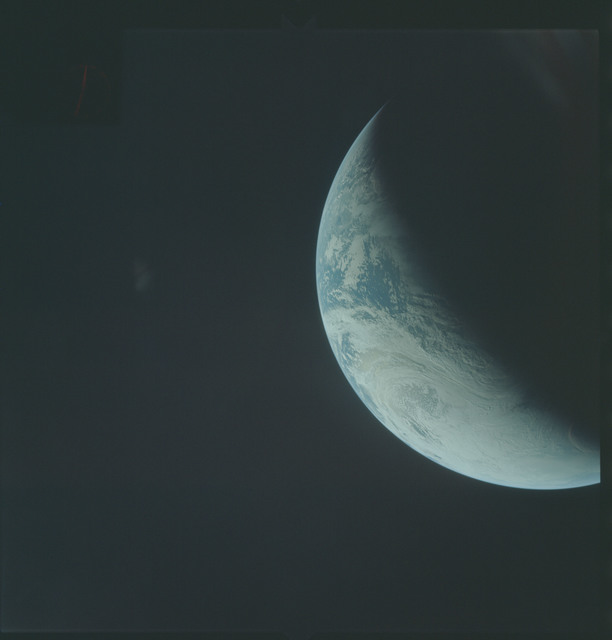 AS04-01-350 - Apollo 4 - Apollo 4 Mission - Atlantic Ocean,coastal Brazil,West Africa and Antarctica