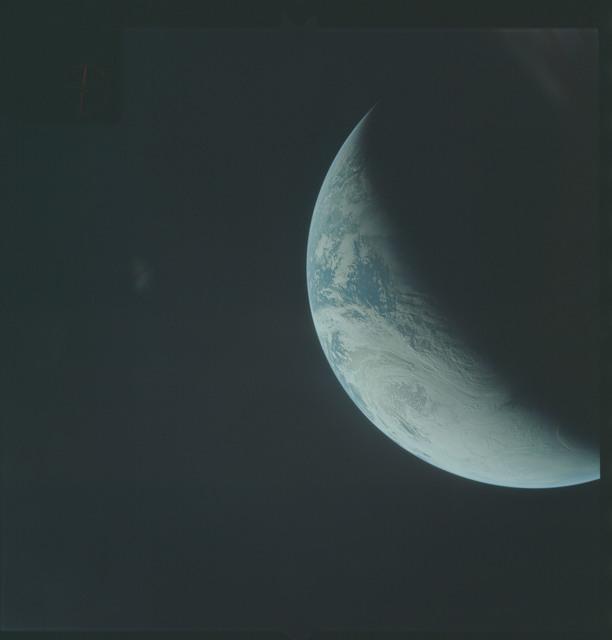 AS04-01-360 - Apollo 4 - Apollo 4 Mission - Atlantic Ocean,coastal Brazil,West Africa and Antarctica