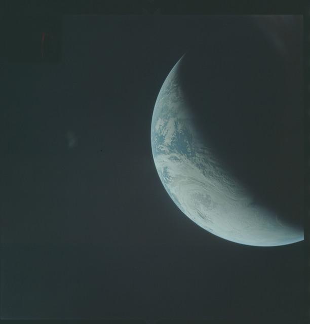 AS04-01-370 - Apollo 4 - Apollo 4 Mission - Atlantic Ocean,coastal Brazil,West Africa and Antarctica