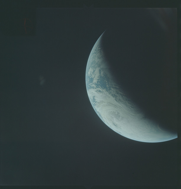AS04-01-380 - Apollo 4 - Apollo 4 Mission - Atlantic Ocean,coastal Brazil,West Africa and Antarctica