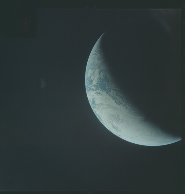 AS04-01-390 - Apollo 4 - Apollo 4 Mission - Atlantic Ocean,coastal Brazil,West Africa and Antarctica