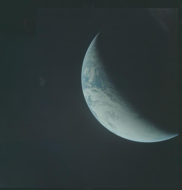 AS04-01-400 - Apollo 4 - Apollo 4 Mission - Atlantic Ocean,coastal Brazil,West Africa and Antarctica