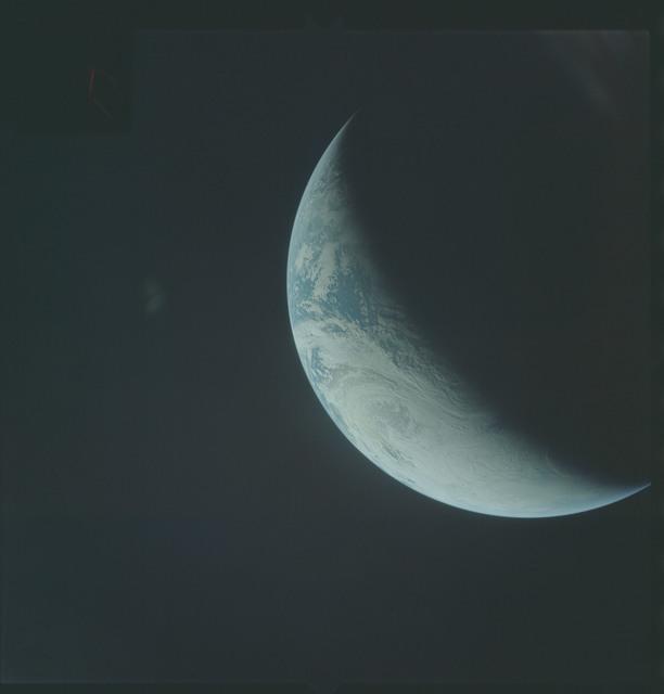 AS04-01-410 - Apollo 4 - Apollo 4 Mission - Atlantic Ocean,coastal Brazil,West Africa and Antarctica