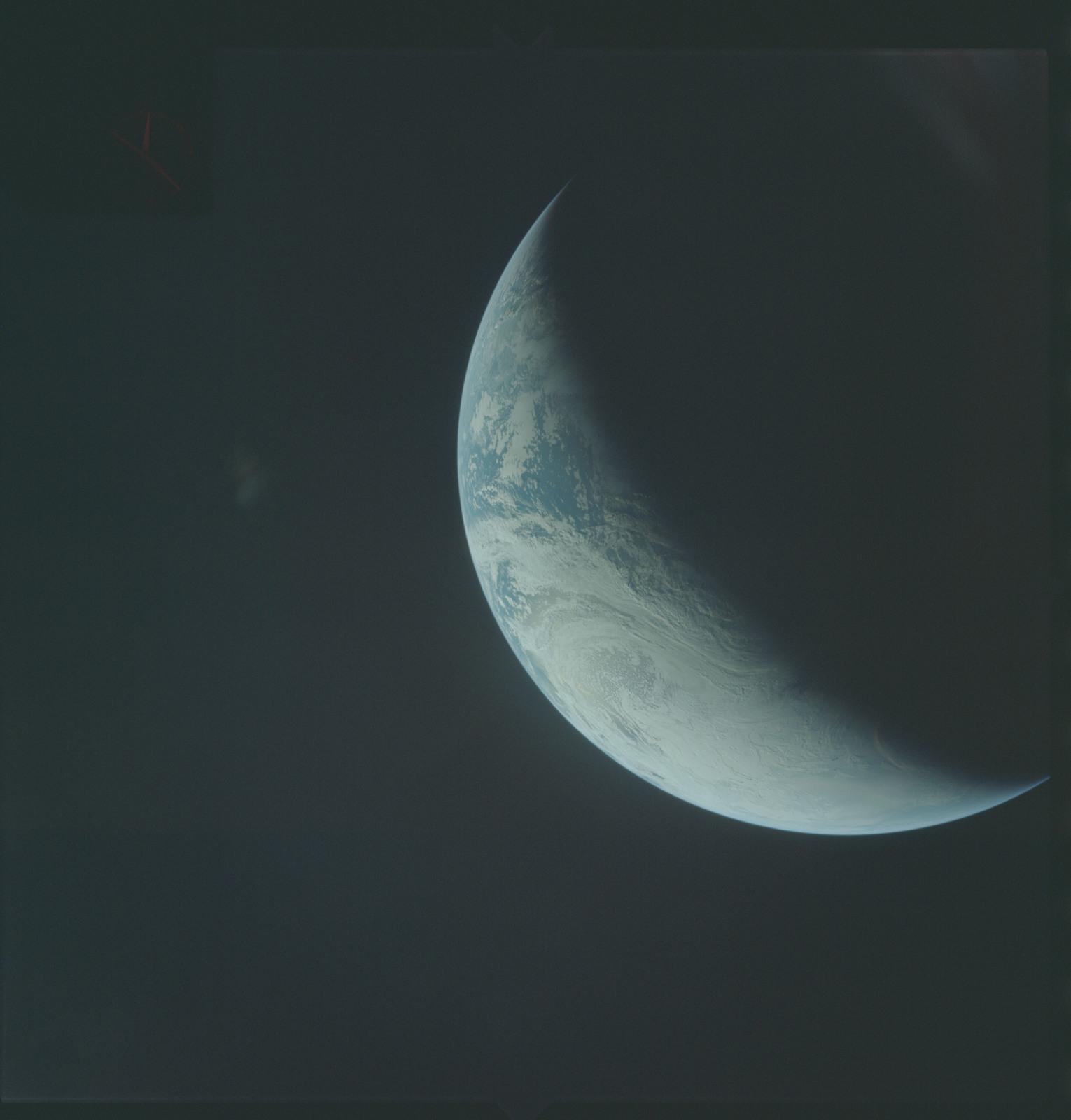 AS04-01-411 - Apollo 4 - Apollo 4 Mission - Atlantic Ocean,coastal Brazil,West Africa and Antarctica