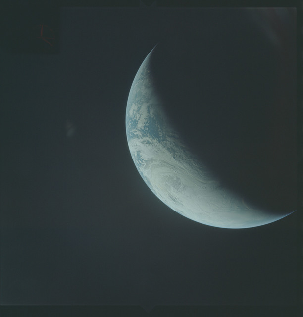 AS04-01-420 - Apollo 4 - Apollo 4 Mission - Atlantic Ocean,coastal Brazil,West Africa and Antarctica
