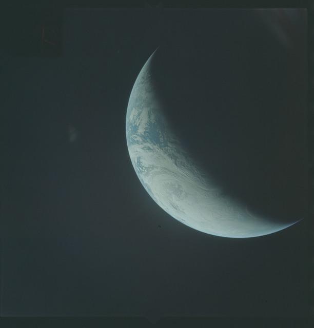 AS04-01-430 - Apollo 4 - Apollo 4 Mission - Atlantic Ocean,coastal Brazil,West Africa and Antarctica
