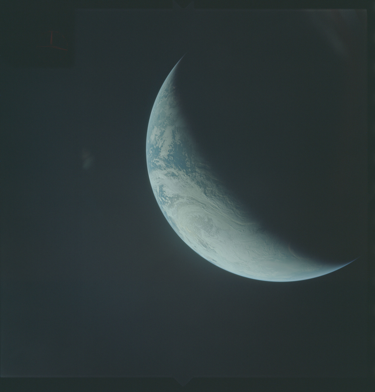 AS04-01-440 - Apollo 4 - Apollo 4 Mission - Atlantic Ocean,coastal Brazil,West Africa and Antarctica