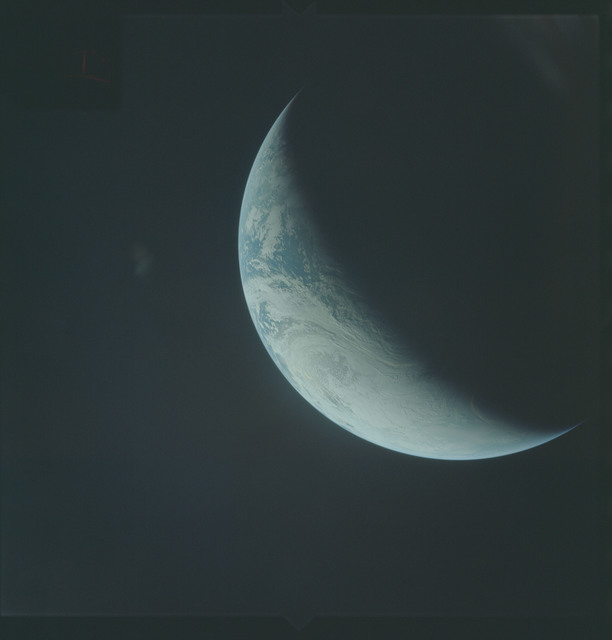 AS04-01-440 - Apollo 4 - Apollo 4 Mission - Atlantic Ocean,coastal Brazil,West Africa and Antarctica