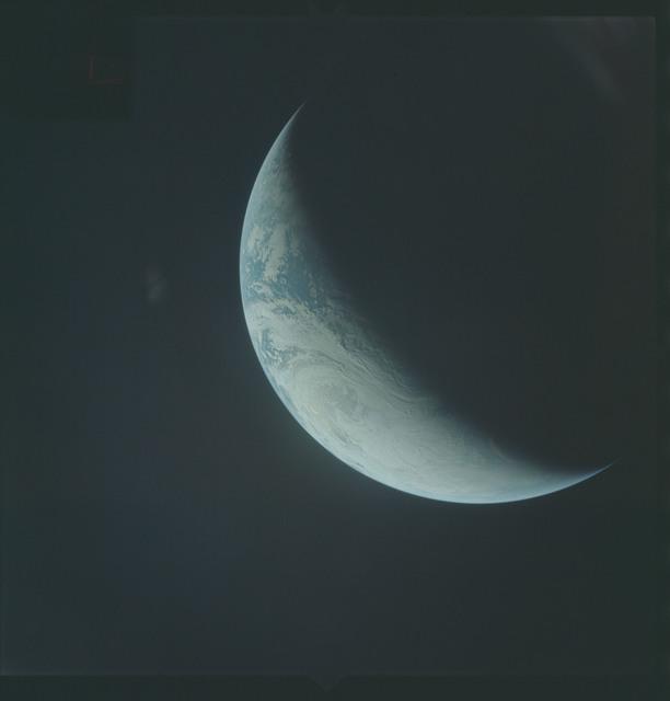 AS04-01-460 - Apollo 4 - Apollo 4 Mission - Atlantic Ocean,coastal Brazil,West Africa and Antarctica