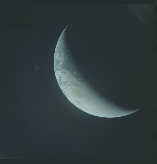 AS04-01-470 - Apollo 4 - Apollo 4 Mission - Atlantic Ocean,coastal Brazil,West Africa and Antarctica