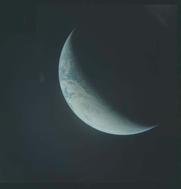 AS04-01-480 - Apollo 4 - Apollo 4 Mission - Atlantic Ocean,coastal Brazil,West Africa and Antarctica