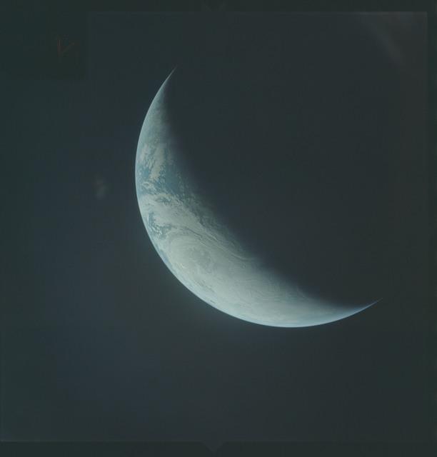 AS04-01-490 - Apollo 4 - Apollo 4 Mission - Atlantic Ocean,coastal Brazil,West Africa and Antarctica