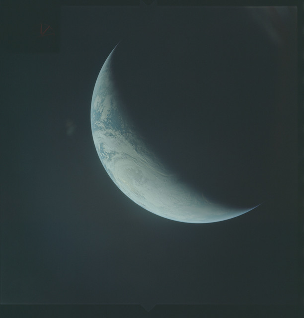 AS04-01-500 - Apollo 4 - Apollo 4 Mission - Atlantic Ocean,coastal Brazil,West Africa and Antarctica