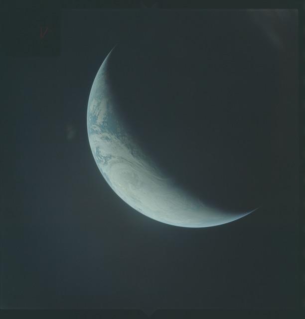 AS04-01-510 - Apollo 4 - Apollo 4 Mission - Atlantic Ocean,coastal Brazil,West Africa and Antarctica