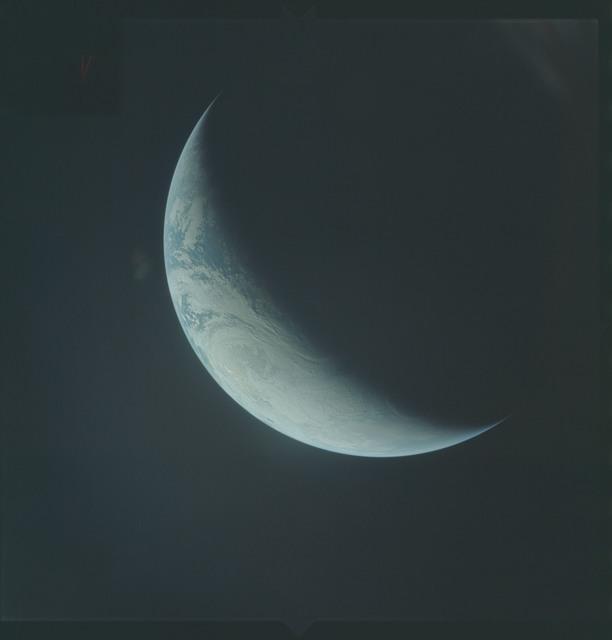 AS04-01-520 - Apollo 4 - Apollo 4 Mission - Atlantic Ocean,coastal Brazil,West Africa and Antarctica