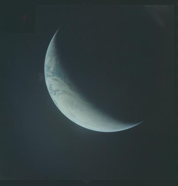 AS04-01-530 - Apollo 4 - Apollo 4 Mission - Atlantic Ocean,coastal Brazil,West Africa and Antarctica