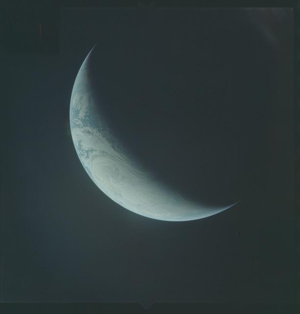 AS04-01-540 - Apollo 4 - Apollo 4 Mission - Atlantic Ocean,coastal Brazil,West Africa and Antarctica
