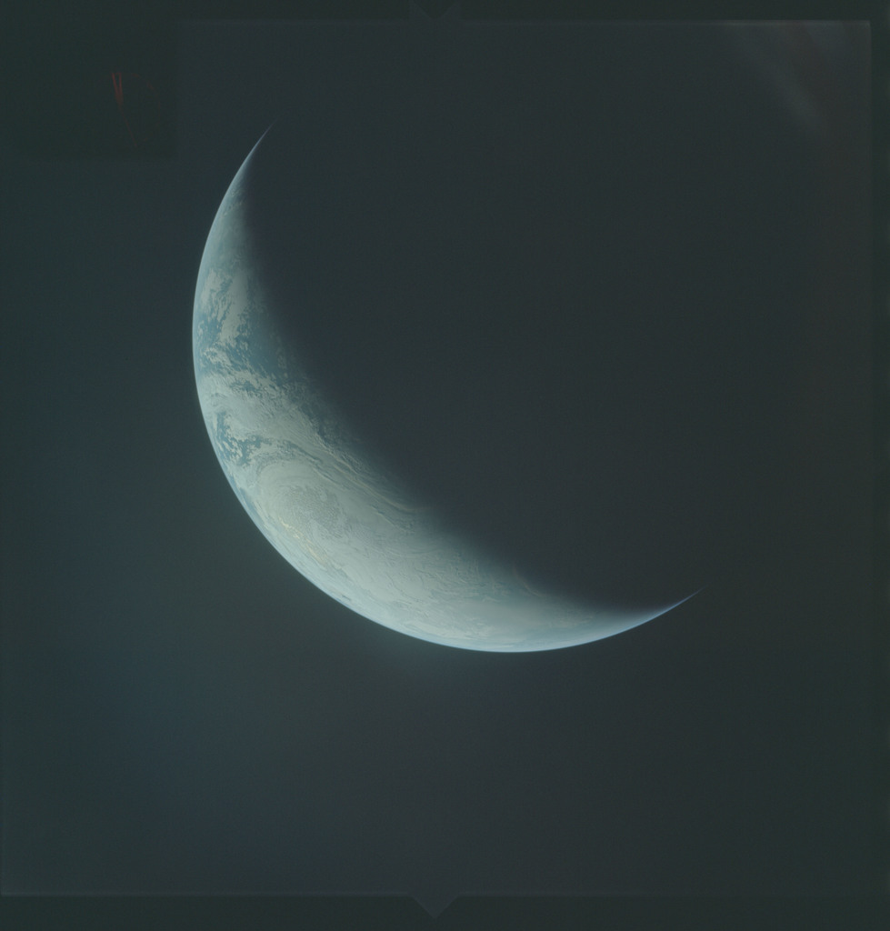 AS04-01-550 - Apollo 4 - Apollo 4 Mission - Atlantic Ocean,coastal Brazil,West Africa and Antarctica